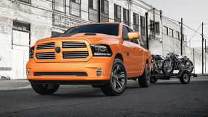 Ignition Orange Ram 1500