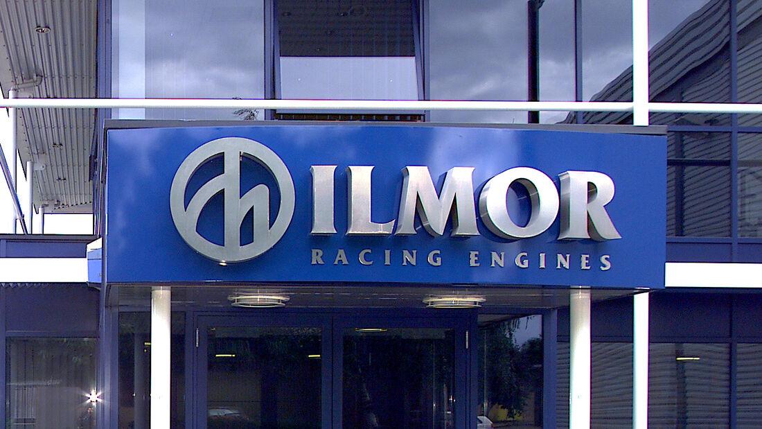 Ilmor - Logo - Fabrik Brixworth