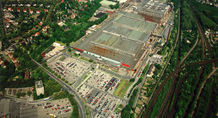 Im Bochumer Opel-Werk II ist die Produktion bereits eingestellt.