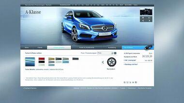 Immer mehr Verbraucher bestellen ihren Neuwagen im Internet.