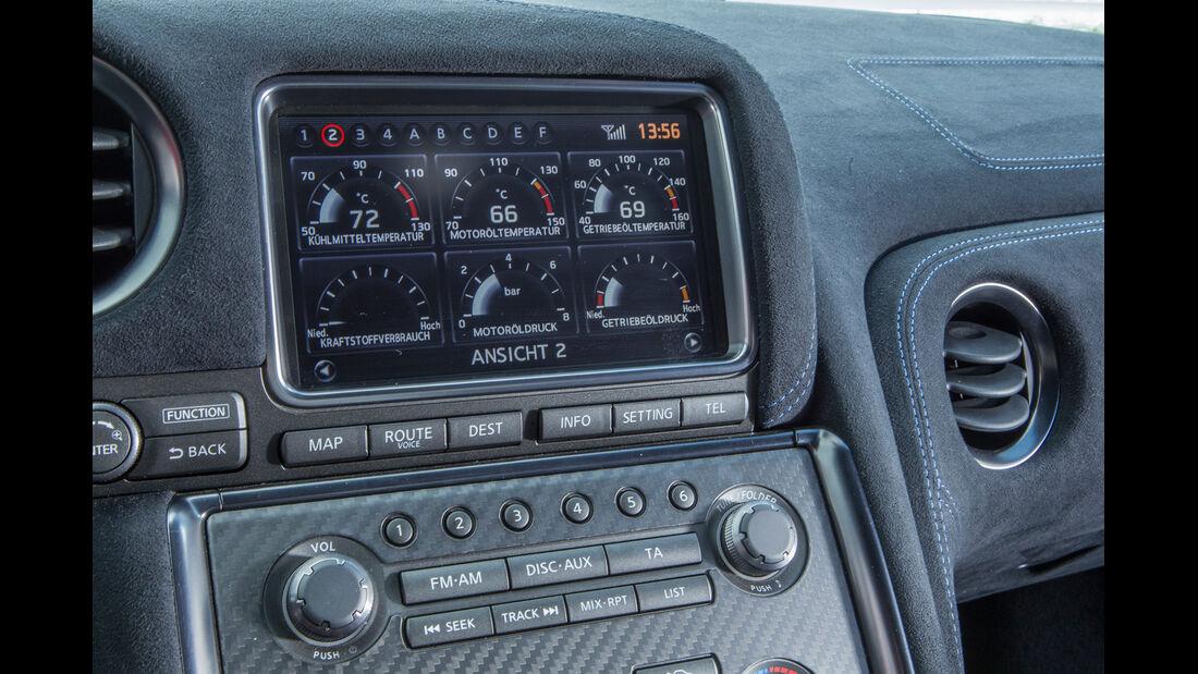 Importracing Nissan GT-R, Navi, Mittelkonsole