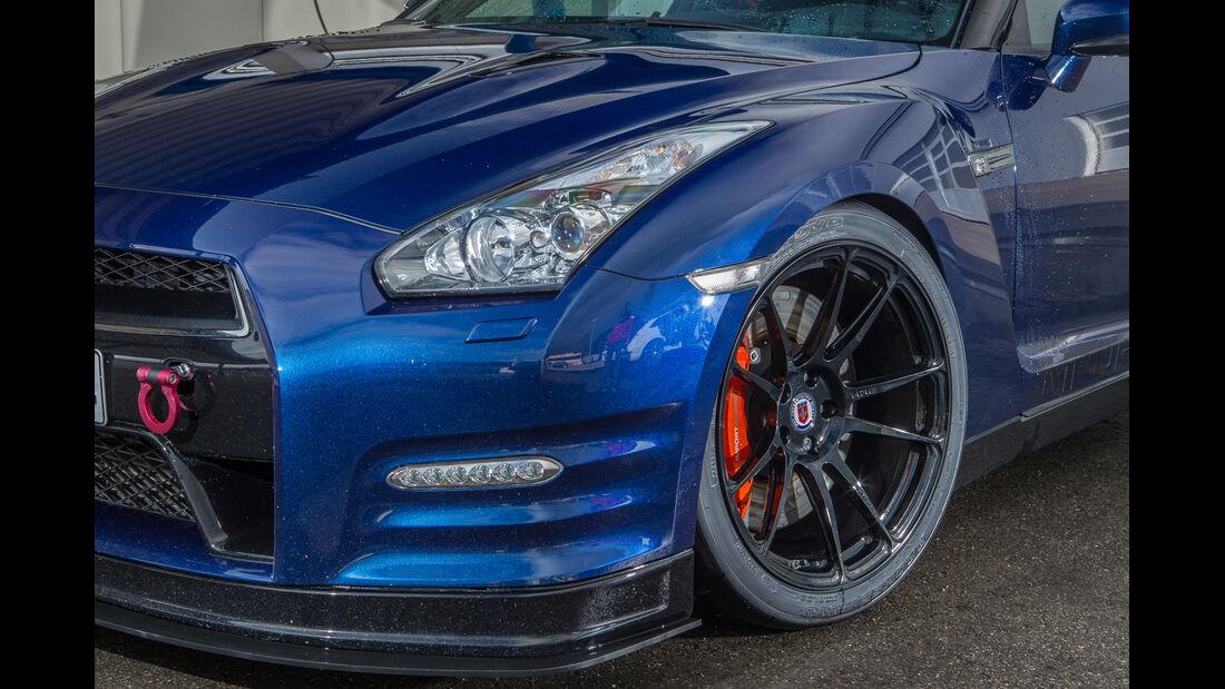 Importracing Nissan GT-R, Rad, Felge, Bremse