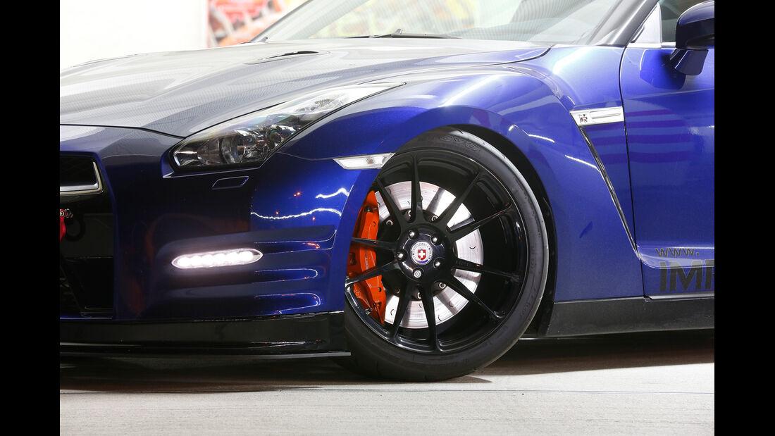 Importracing-Nissan GT-R, Rad, Felge, Heckspoiler