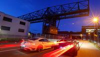 Importracing-Nissan GT-R, Techart-Porsche 911 Turbo S, Heckansicht