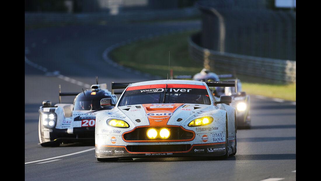 Impressionen - 24h-Rennen - Le Mans 2014 - Aston Martin