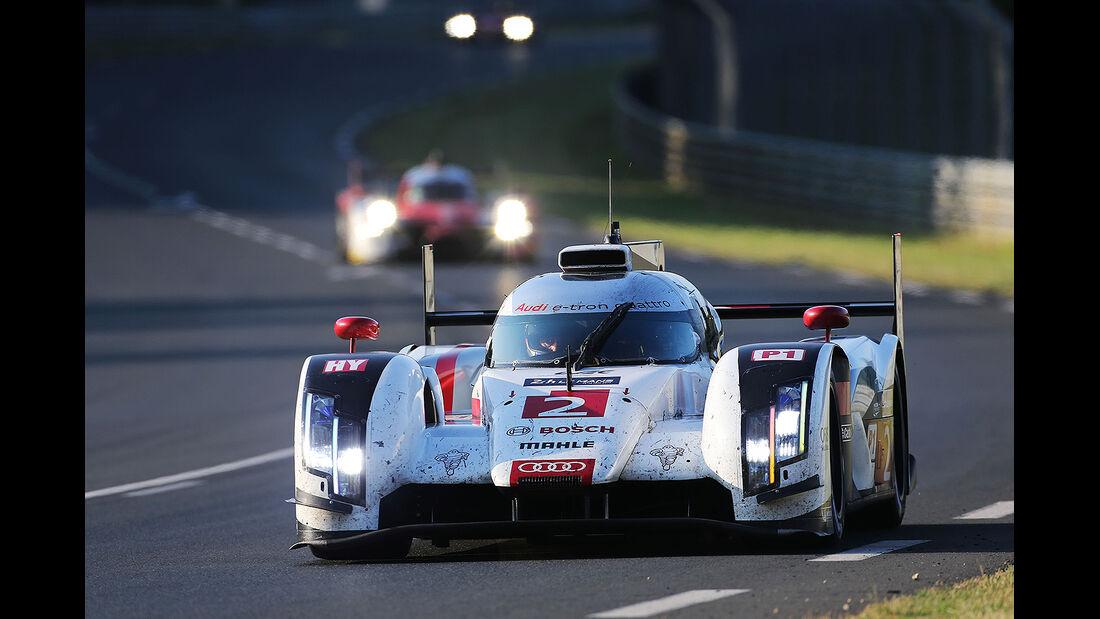 Impressionen - 24h-Rennen - Le Mans 2014 - Audi R18 e-tron quattro