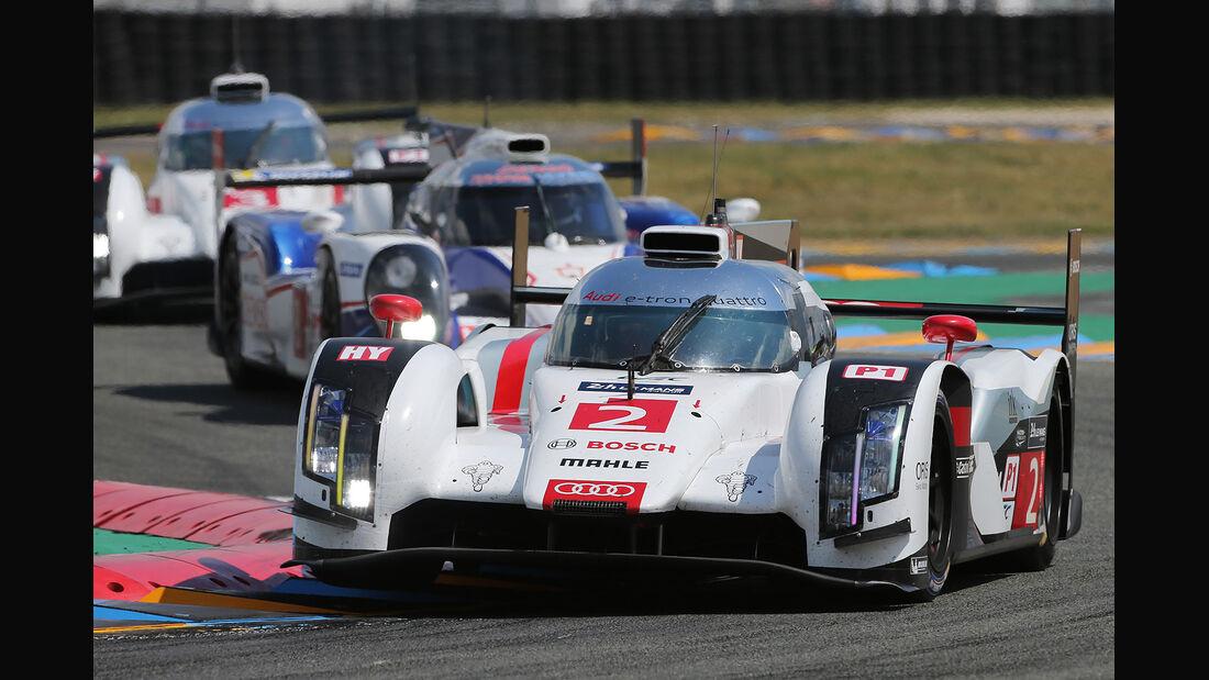 Impressionen - 24h-Rennen - Le Mans 2014 - Motorsport - Audi R18