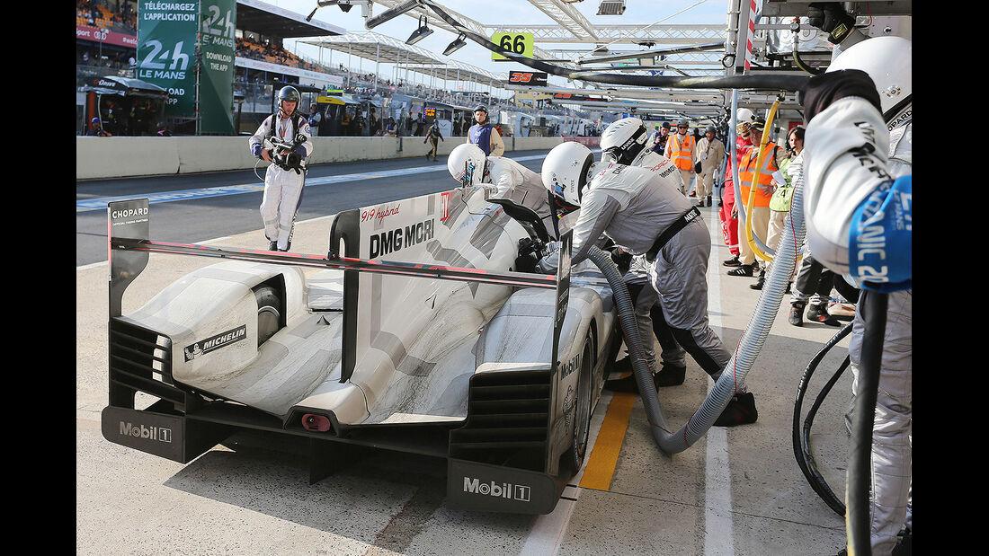 Impressionen - 24h-Rennen - Le Mans 2014 - Motorsport - Porsche 919 Hybrid