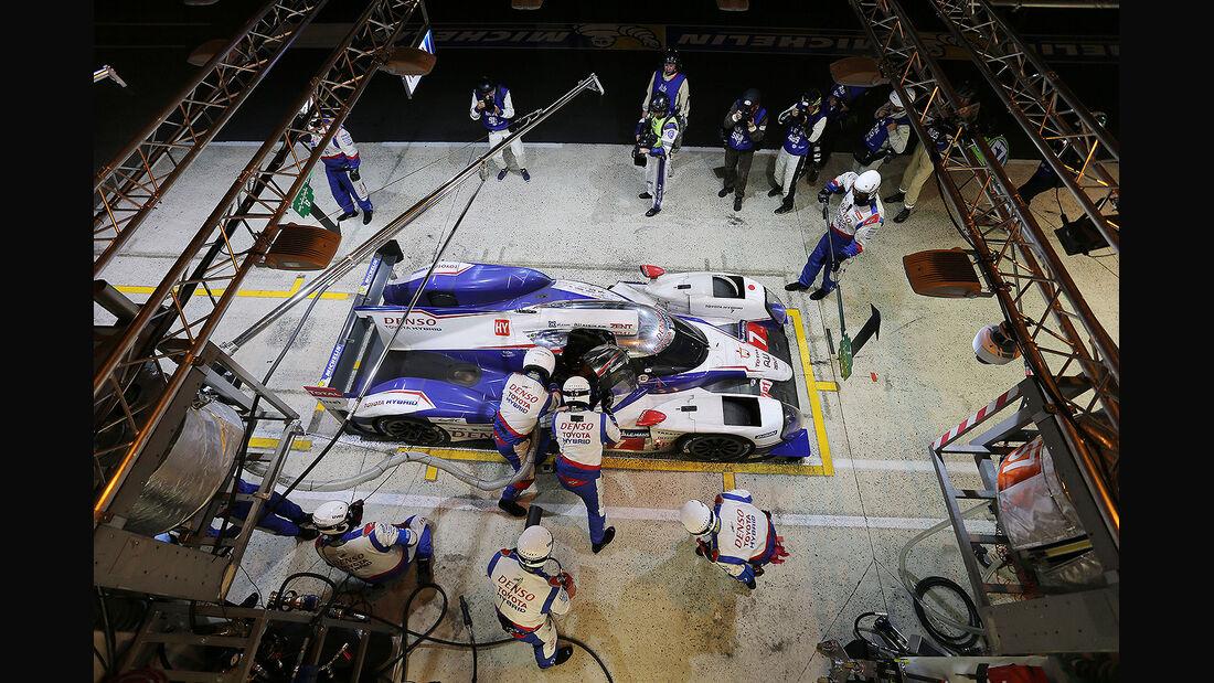 Impressionen - 24h-Rennen - Le Mans 2014 - Motorsport - Toyota TS040 Hybrid