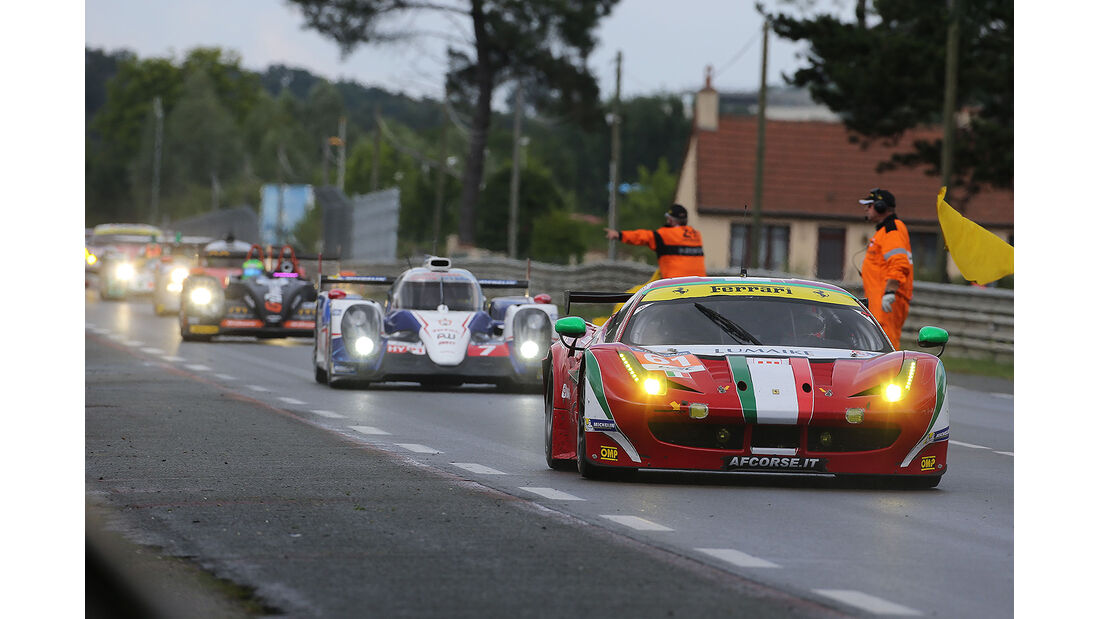 Impressionen - 24h-Rennen - Le Mans 2014 - Safety Car