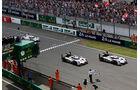 Impressionen - 24h-Rennen - Le Mans 2014 - Zieleinlauf - Lotterer - Tréluyer - Fässler - Audi R18 etron quattro