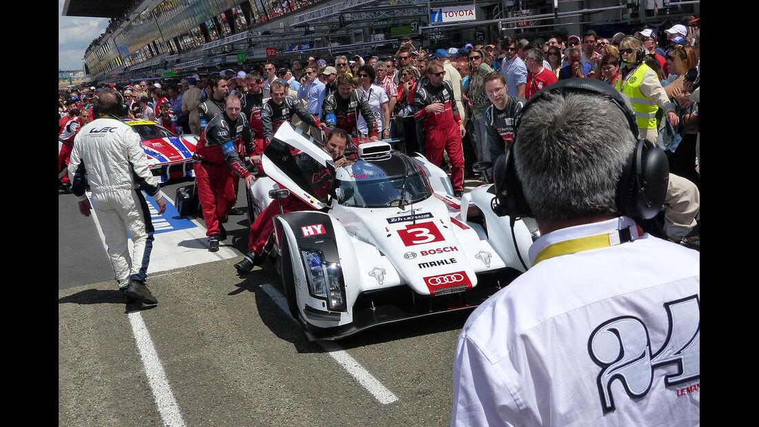 Impressionen - 24h-Rennen von Le Mans 2014 - Audi R18 e-tron quattro - Motorsport