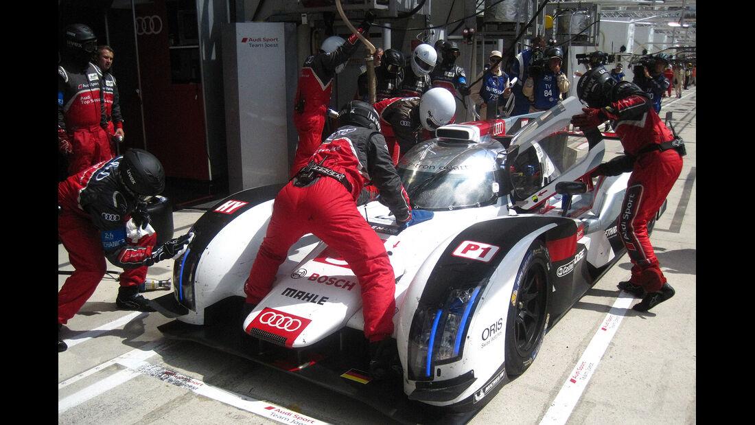 Impressionen - 24h-Rennen von Le Mans 2014 - Motorsport - Audi R18