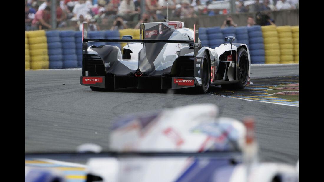 Impressionen - 24h-Rennen von Le Mans 2014 - Motorsport - Audi R18 e-tron quattro - Toyota TS040 Hybrid