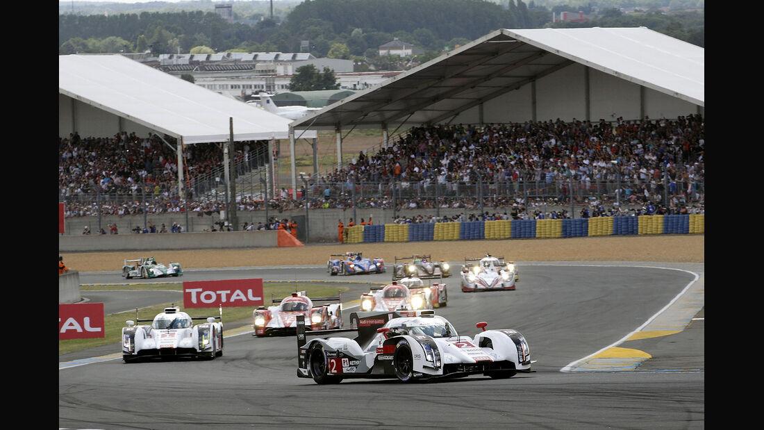 Impressionen – 24h-Rennen von Le Mans 2014 – Motorsport – LMP1 – LMP2 – GTE