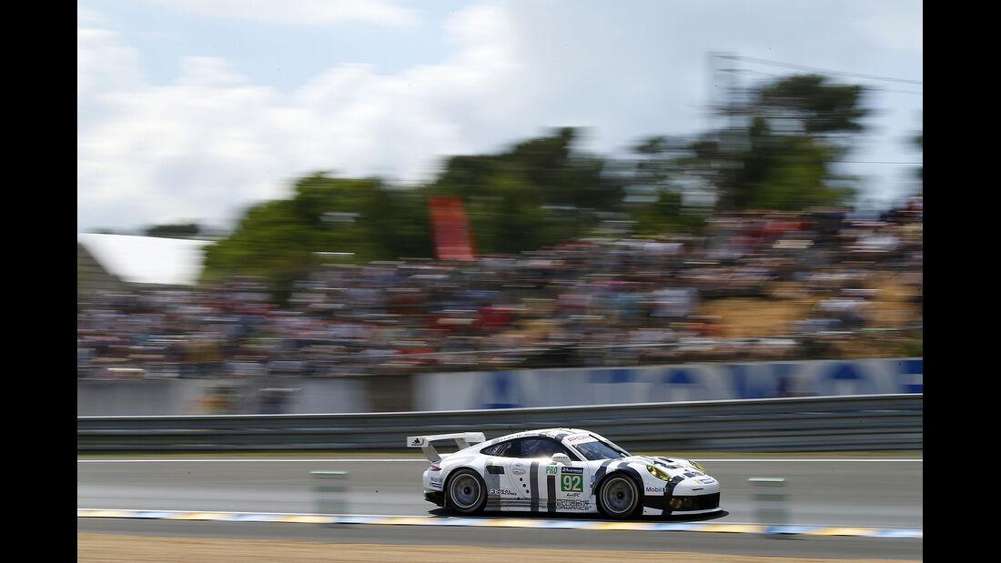 Impressionen - 24h-Rennen von Le Mans 2014 - Motorsport - Porsche