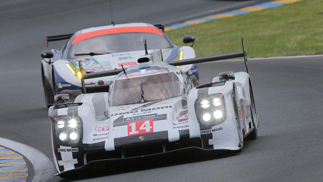 Impressionen - 24h-Rennen von Le Mans 2014 - Motorsport - Porsche 919 Hybrid