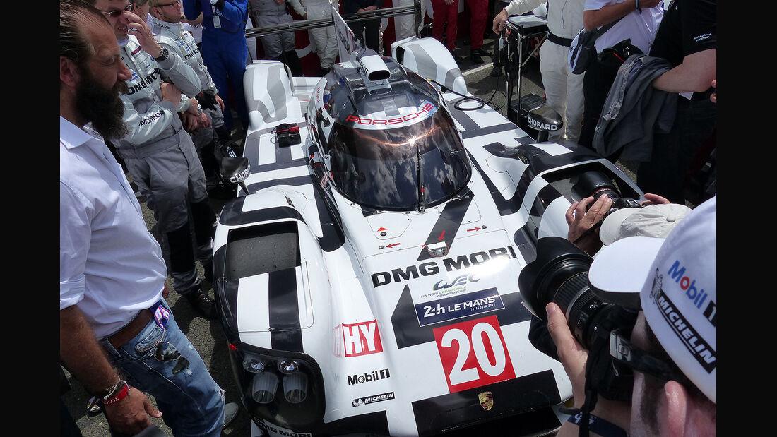 Impressionen - 24h-Rennen von Le Mans 2014 - Porsche 919 Hybrid - Motorsport