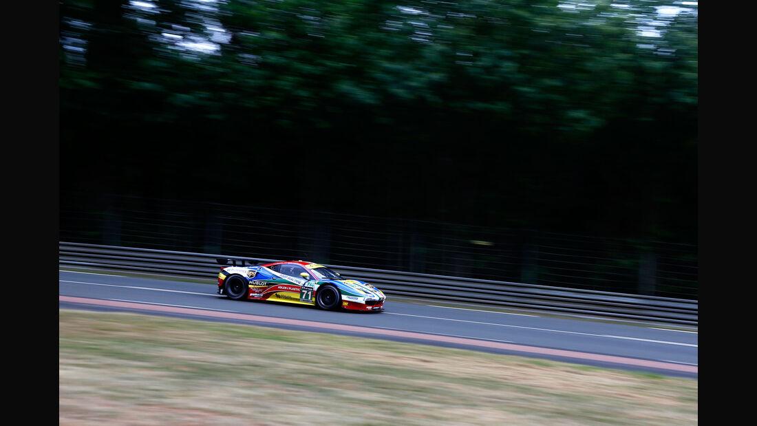 Impressionen - AF Corse - Ferrari 458 - 24h-Rennen Le Mans 2015 - Mittwoch - 11.6.2015
