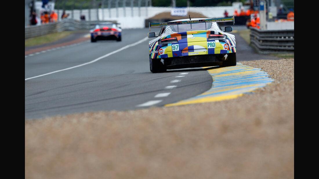 Impressionen - Aston Martin Vantage V8 - 24h-Rennen Le Mans 2015 - Mittwoch - 11.6.2015