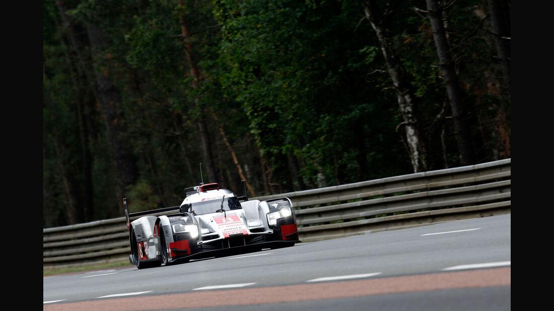 Impressionen - Audi R18 etron quattro - 24h-Rennen Le Mans 2015 - Mittwoch - 11.6.2015