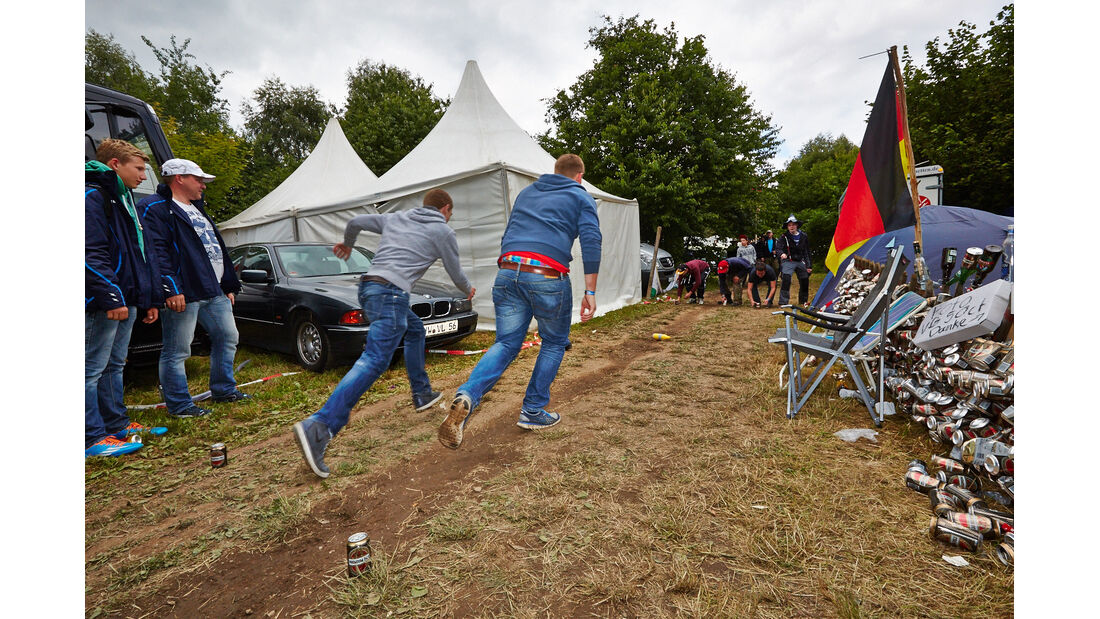 Impressionen - Campingplatz - 24h-Rennen - Nürburgring 2014