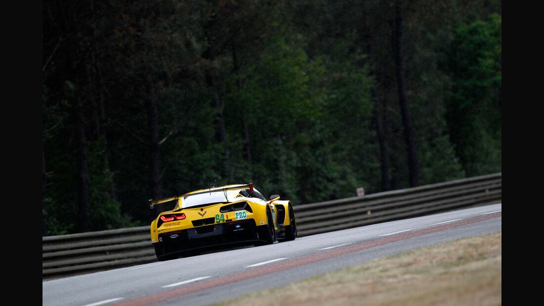 Impressionen - Corvette Racing - Corvette C7R - 24h-Rennen Le Mans 2015 - Mittwoch - 11.6.2015
