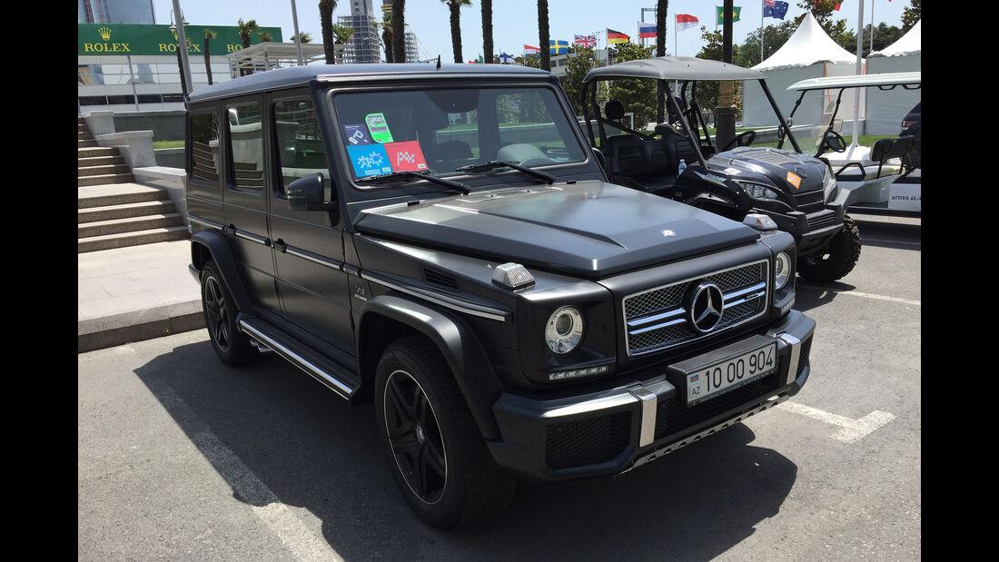 Impressionen - F1 Tagebuch - GP Aserbaidschan 2016