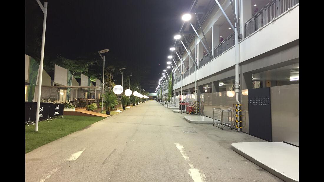 Impressionen - F1 Tagebuch - GP Singapur 2016