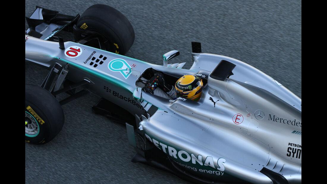 Impressionen F1 Test Jerez 2013 Montag