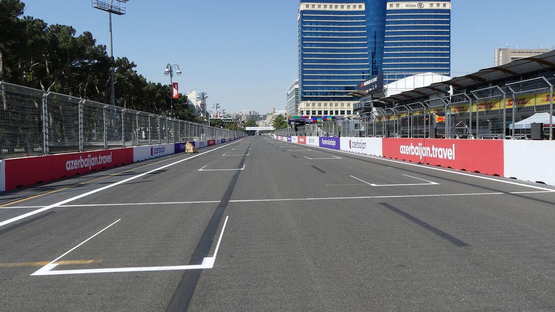 Impressionen - Formel 1 - GP Aserbaidschan - Baku - Donnerstag - 3.6.2021