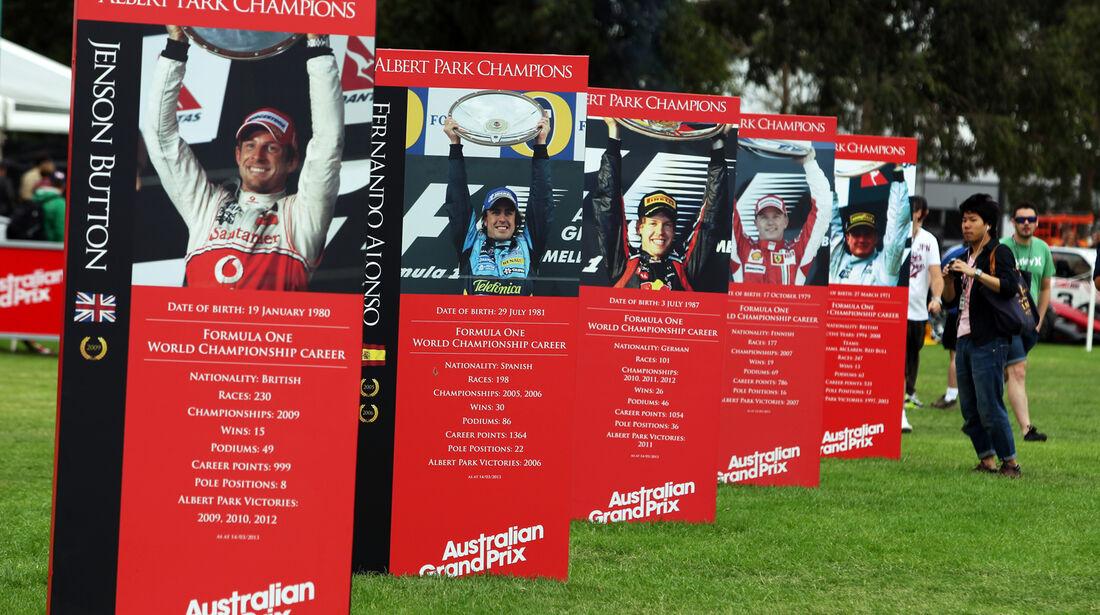 Impressionen - Formel 1 - GP Australien - 14. März 2013