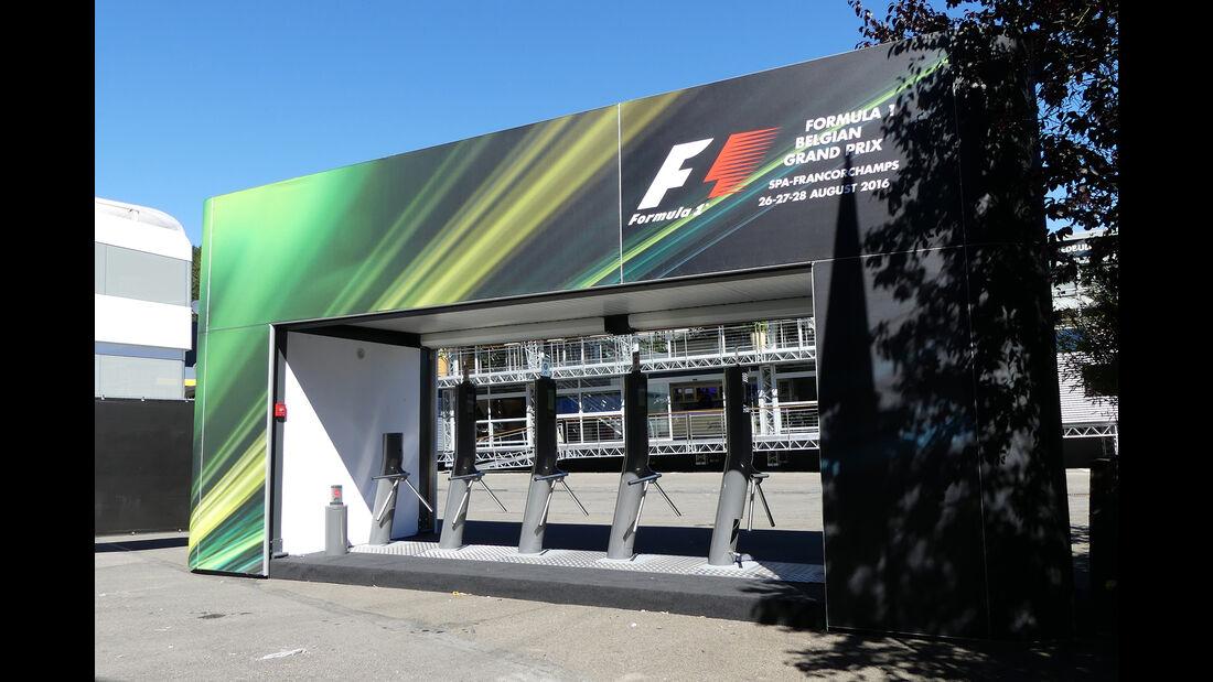 Impressionen - Formel 1 - GP Belgien - 24. August 2016