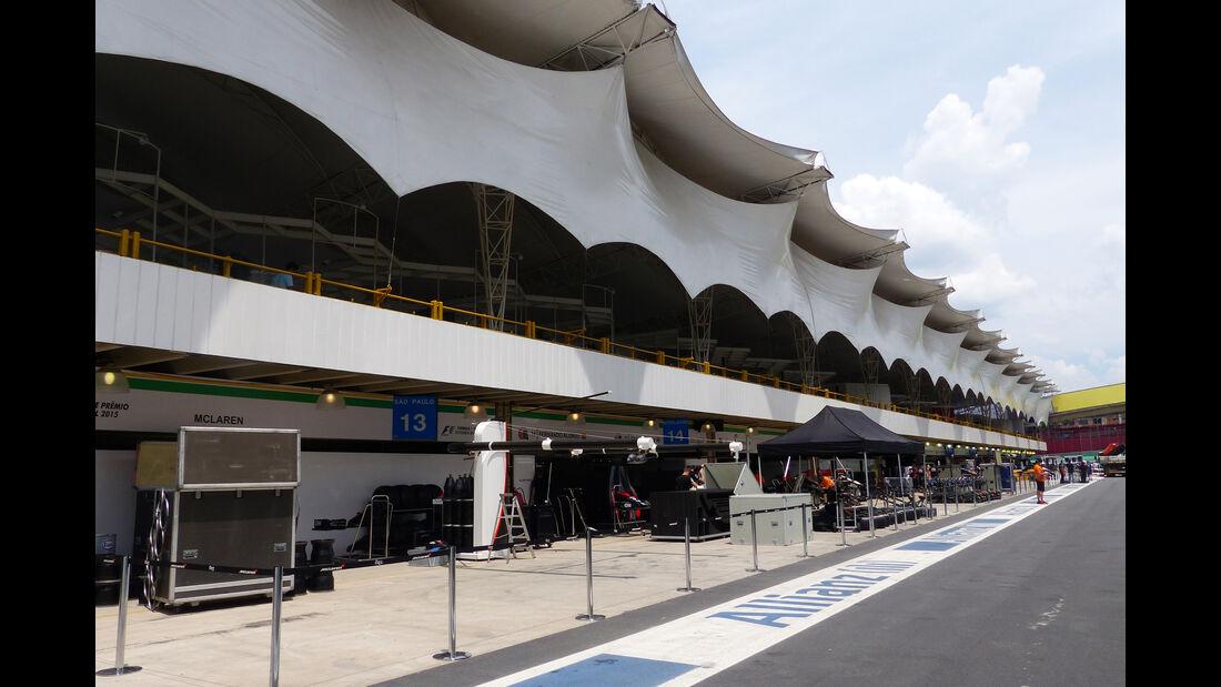 Impressionen - Formel 1 - GP Brasilien- 11. November 2015