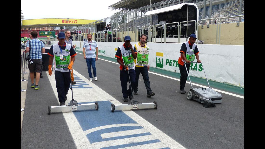Impressionen - Formel 1 - GP Brasilien- 12. November 2015