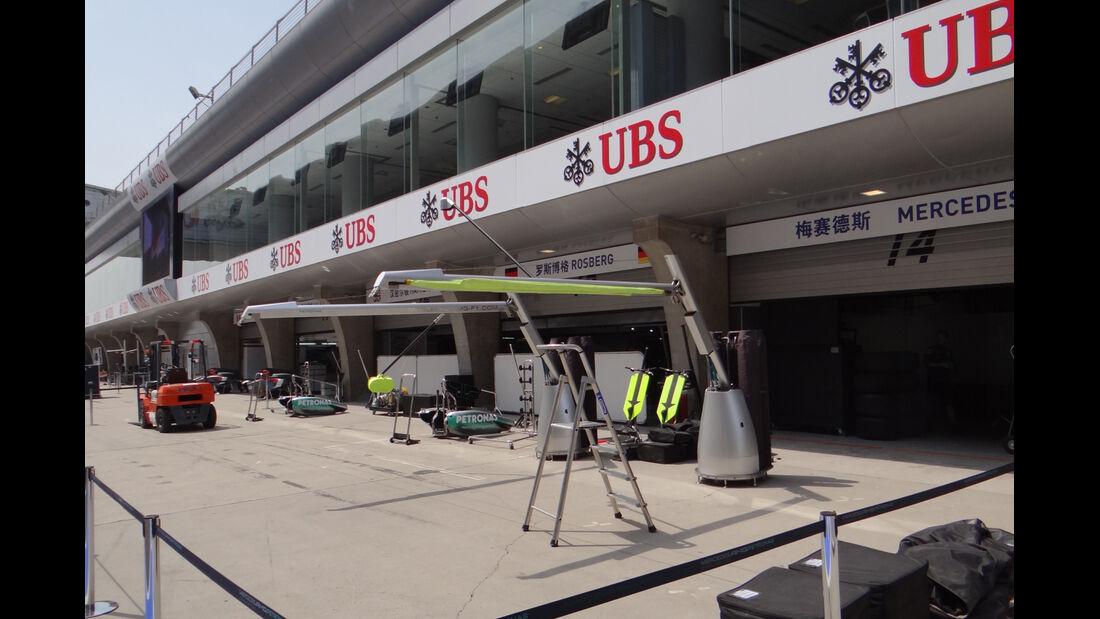 Impressionen - Formel 1 - GP China - 10. April 2013