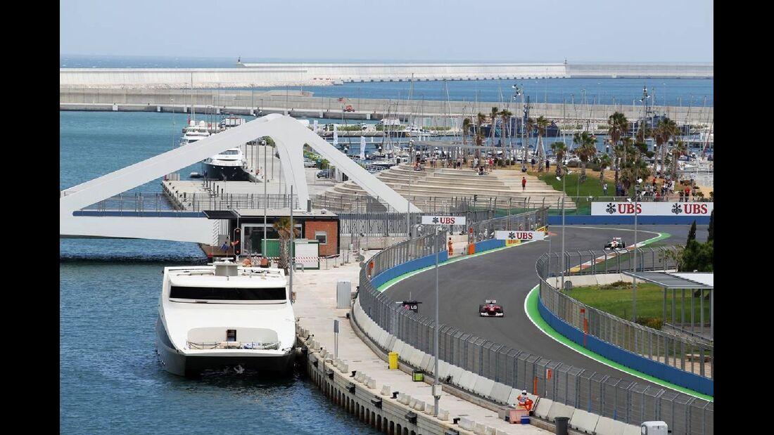 Impressionen  - Formel 1 - GP Europa - 23. Juni 2012