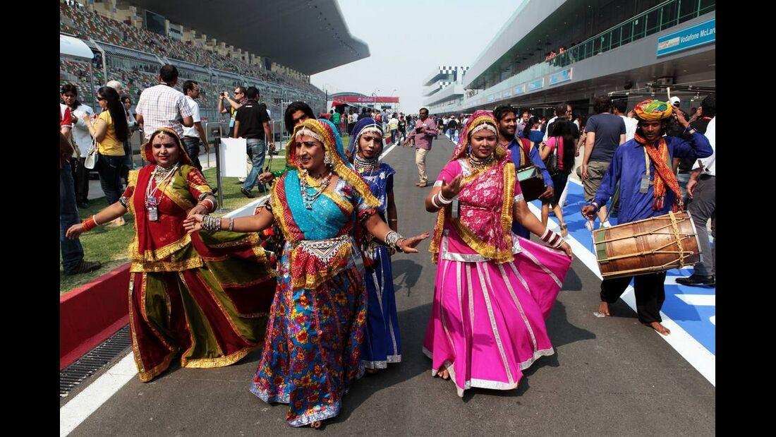 Impressionen - Formel 1 - GP Indien - 26. Oktober 2012