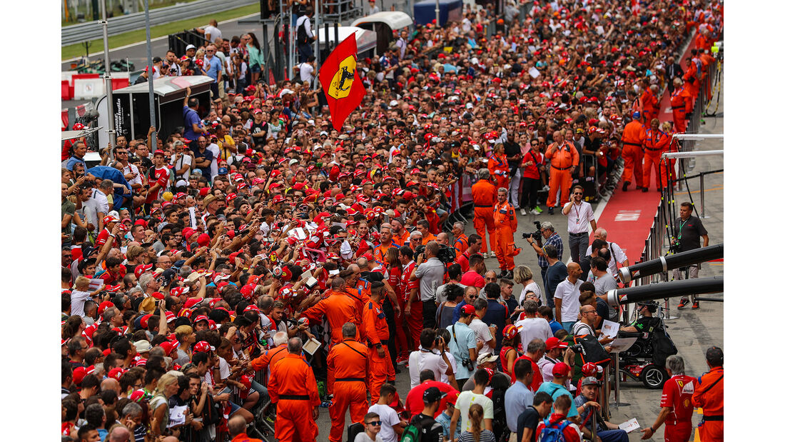 Impressionen - Formel 1 - GP Italien - Monza - 31. August 2017