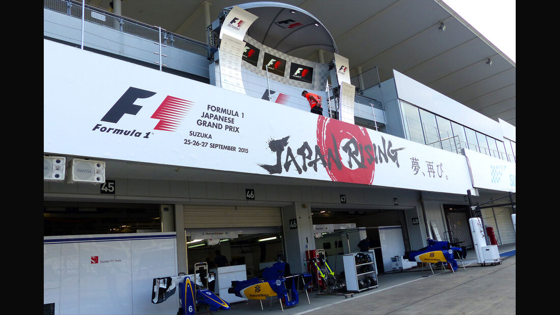 Impressionen - Formel 1 - GP Japan - Suzuka - 23. September 2015