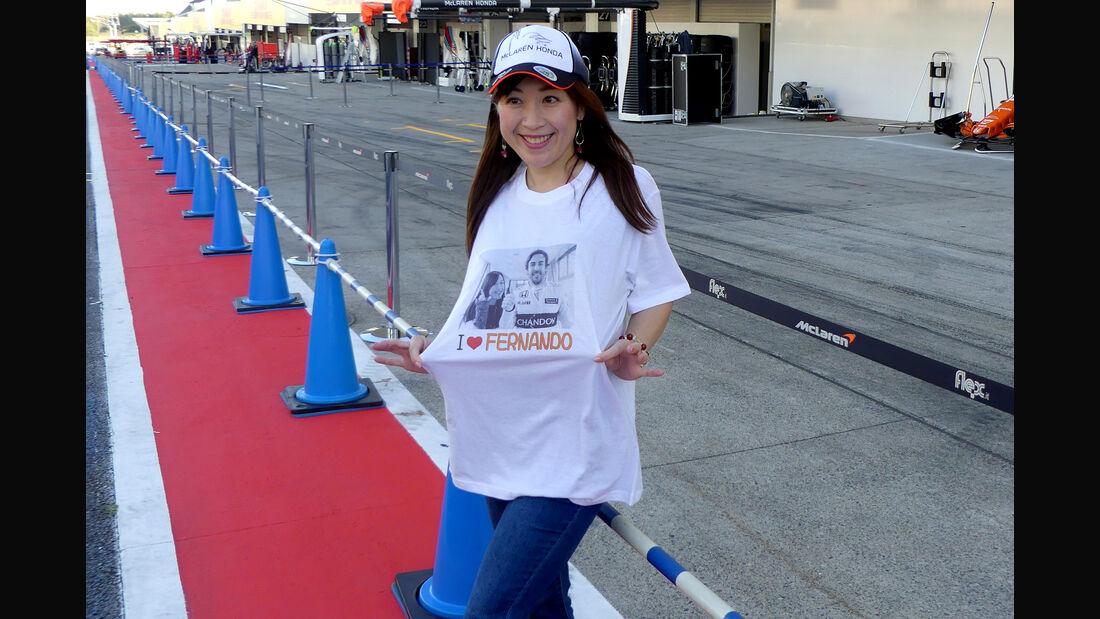 Impressionen - Formel 1 - GP Japan - Suzuka - 4. Oktober 2017