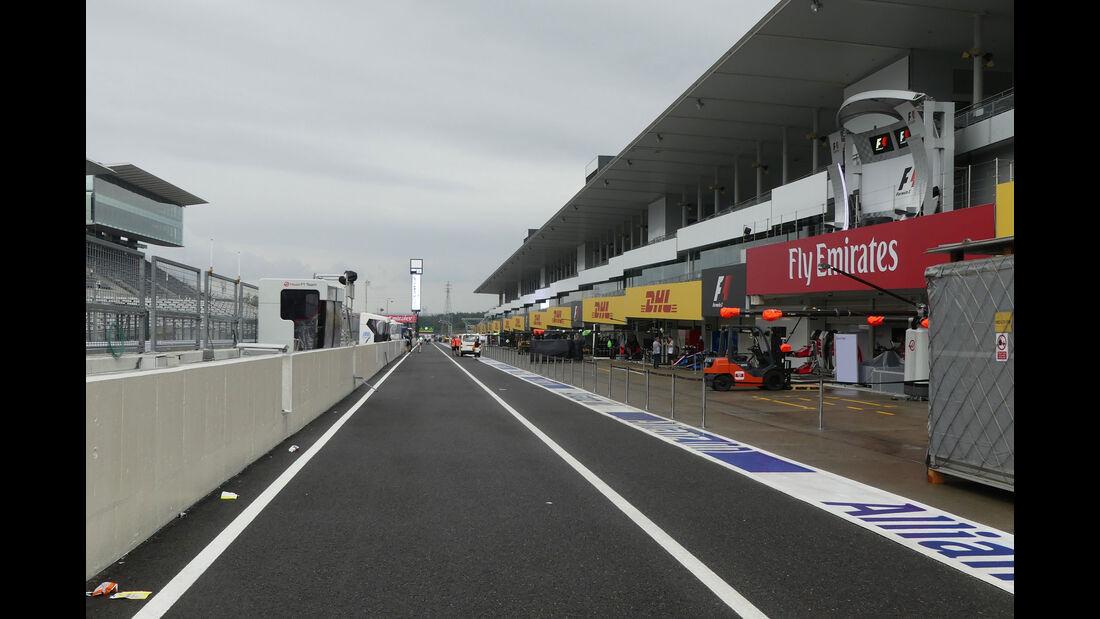 Impressionen - Formel 1 - GP Japan - Suzuka - Mittwoch - 5.10.2016