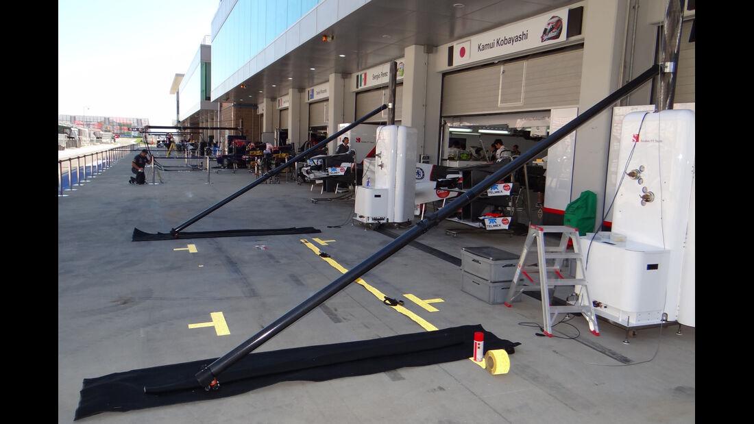 Impressionen - Formel 1 - GP Korea - 11. Oktober 2012