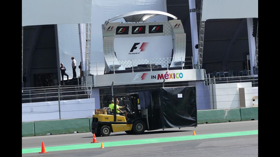 Impressionen - Formel 1 - GP Mexiko - 26. Oktober 2016