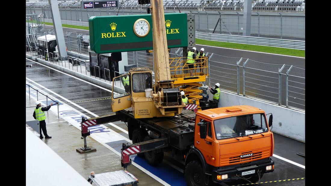 Impressionen - Formel 1 - GP Russland - 27. April 2016