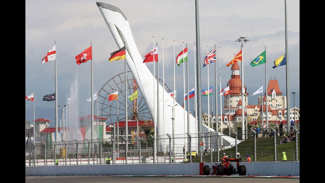 Impressionen  - Formel 1 - GP Russland - 29. April 2016