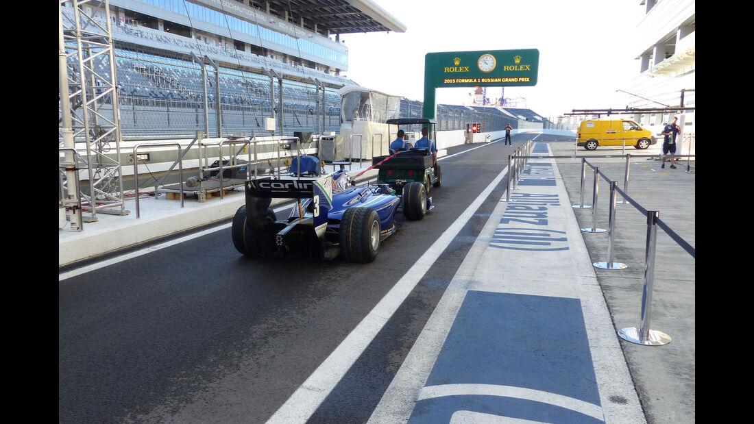 Impressionen - Formel 1 - GP Russland - Sochi - Donnerstag - 8.10.2015