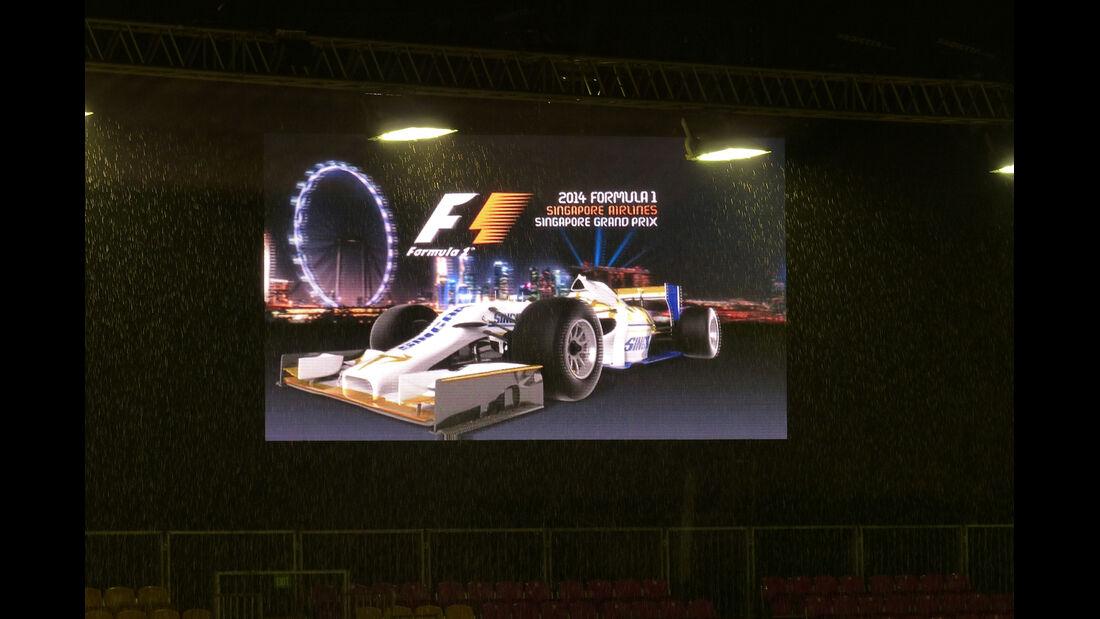 Impressionen - Formel 1 - GP Singapur - 20. September 2014
