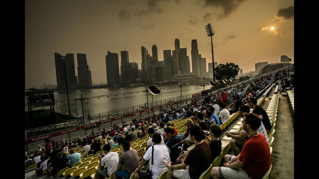 Impressionen - Formel 1 - GP Singapur - 20. September 2015