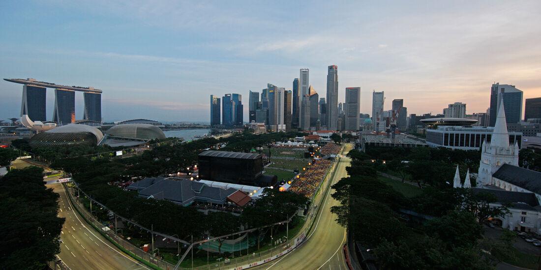 Impressionen - Formel 1 - GP Singapur - 21. September 2013